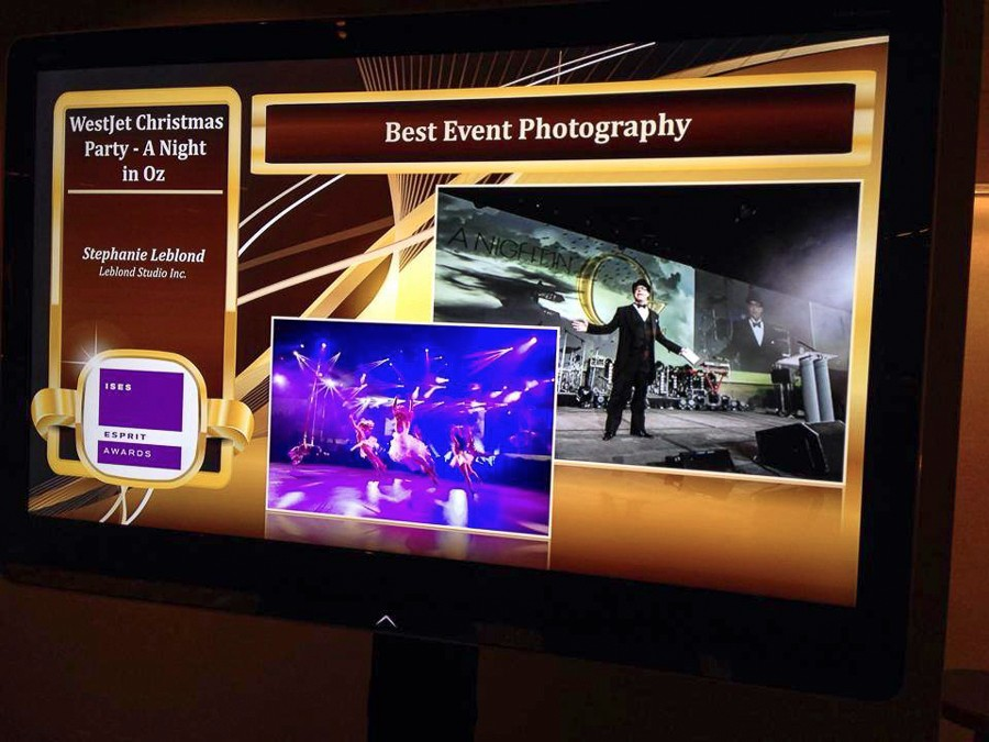 Screen Shot winner Esprit Esprit award Bast Event Photography Leblond Studio 2014