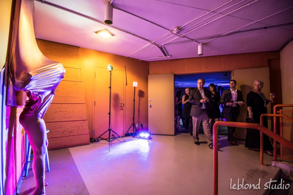 Event Art installation and Interactive entertainers photography by Leblond Studio at the LOOK2015 event in Calgary