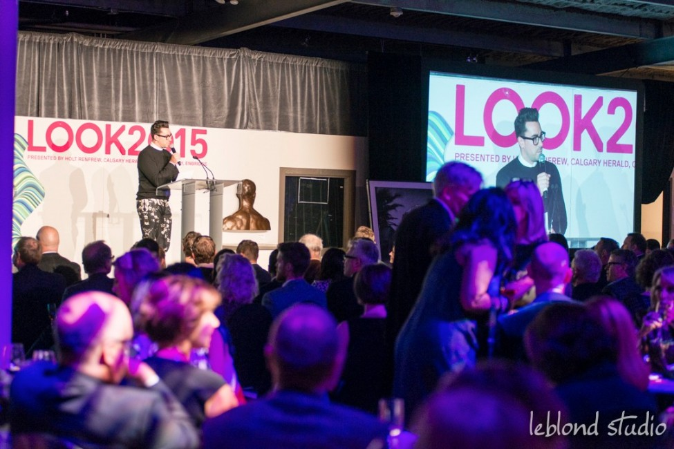 The stage, photography by Leblond Studio at the LOOK2015 event in Calgary